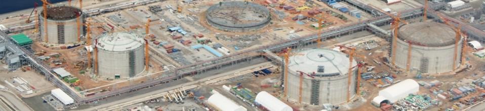 Construção de Tanques LNG